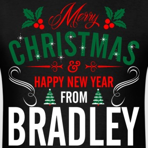 mery_christmas_happy_new_year_from_bradl T-Shirts - Men's T-Shirt