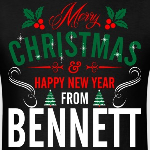 mery_christmas_happy_new_year_from_benne T-Shirts - Men's T-Shirt