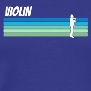 Retro Violin - Men's Premium T-Shirt