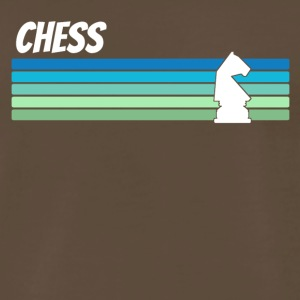 Retro Chess - Men's Premium T-Shirt