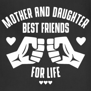 Mother and Daughter best friends for life Aprons - Adjustable Apron