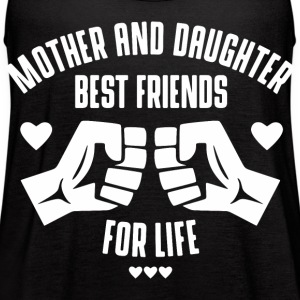 Mother and Daughter best friends for life Tanks - Women's Flowy Tank Top by Bella