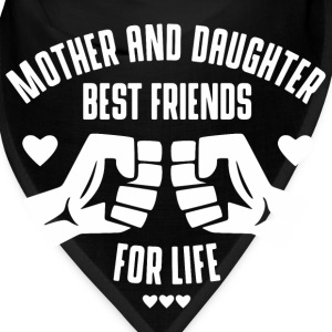 Mother and Daughter best friends for life Caps - Bandana