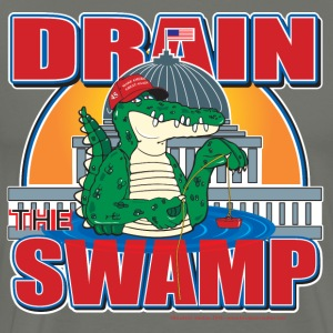 Drain The Swamp Donald Trump - Men's Premium T-Shirt