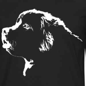 Newfoundland Dog Men's Shirts Newfoundland Puppy S - Men's Premium Long Sleeve T-Shirt