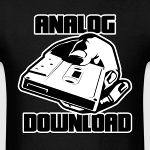 Analog Download T-Shirts - Men's T-Shirt