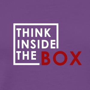Think_Inside_The_Box - Men's Premium T-Shirt