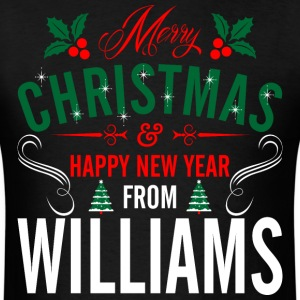 mery_christmas_happy_new_year_from_willi T-Shirts - Men's T-Shirt