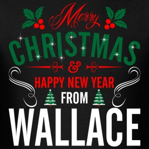 mery_christmas_happy_new_year_from_walla T-Shirts - Men's T-Shirt