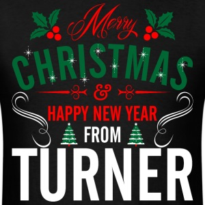 mery_christmas_happy_new_year_from_turne T-Shirts - Men's T-Shirt