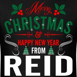 mery_christmas_happy_new_year_from_reid T-Shirts - Men's T-Shirt