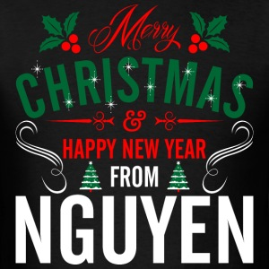 mery_christmas_happy_new_year_from_nguye T-Shirts - Men's T-Shirt