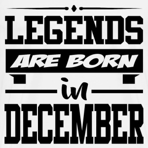 LEGENDS ARE BORN IN NOVEMBER,LEGENDS, ARE BORN ,IN - Men's Premium T-Shirt