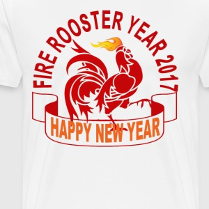 fire_rooster_year_2017_ - Men's Premium T-Shirt