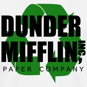 dunder mifflin recycle 2 - Men's Premium T-Shirt