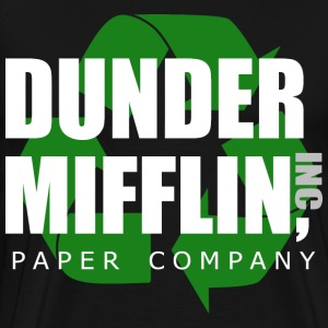 dunder miflin recycle 1 - Men's Premium T-Shirt