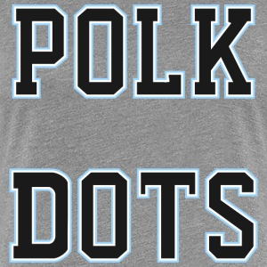polk dots 2 - Women's Premium T-Shirt