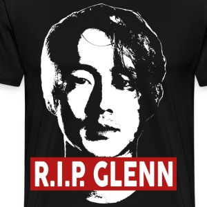 rest In Peace Glenn Rhee - Men's Premium T-Shirt