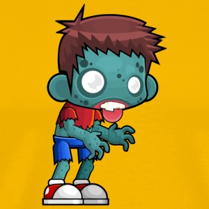 Boy Zombie Kid - Men's Premium T-Shirt