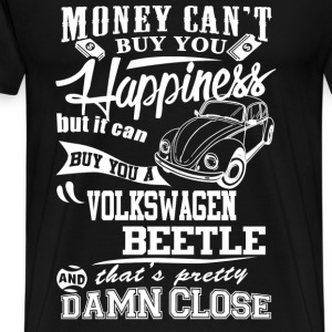 Volkswagen - Money can buy you a beetle - Men's Premium T-Shirt