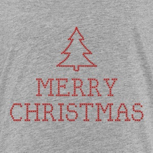 Merry Christmas cross stitch sign Baby & Toddler Shirts - Toddler Premium T-Shirt