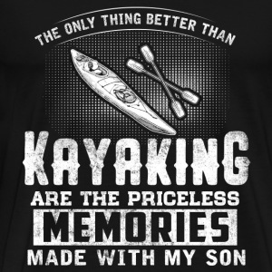 Kayaking - Kayak - Boat - Sports - Men's Premium T-Shirt