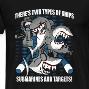 Submarine - Submarines and targets awesome tee - Men's Premium T-Shirt
