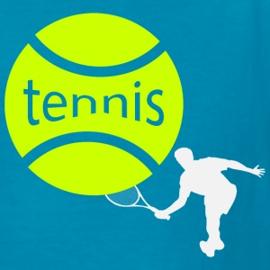 Tennis player Kids' Shirts - Kids' T-Shirt