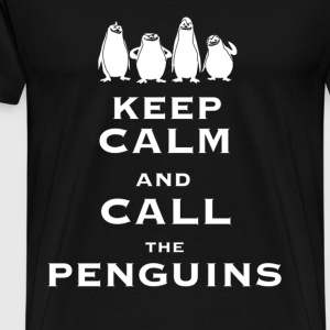 Keep calm and call the Penguins - Men's Premium T-Shirt