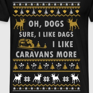 Sure, I like gods. I like Caravans more - Men's Premium T-Shirt