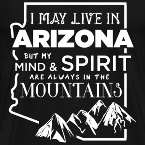 Arizona - My mind  - Men's Premium T-Shirt