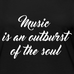 OUTBURST OF THE SOUL Long Sleeve Shirts - Women's Premium Long Sleeve T-Shirt