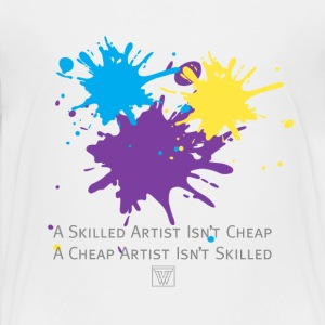Art Isnt Cheap Kid Shirt - Kids' Premium T-Shirt