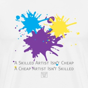 Art Isnt Cheap TShirt - Men's Premium T-Shirt