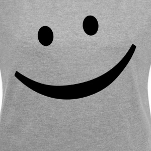 EMOTICON SMILE EMOTICON SMILE T-Shirts - Women´s Rolled Sleeve Boxy T-Shirt