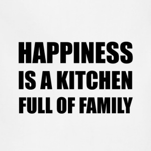 Happiness Kitchen Full Family - Adjustable Apron