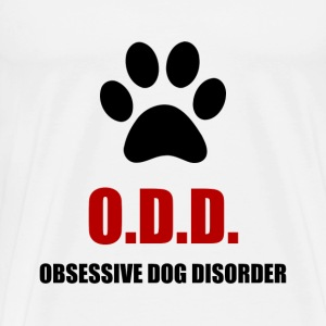 Obsessive Dog Disorder - Men's Premium T-Shirt