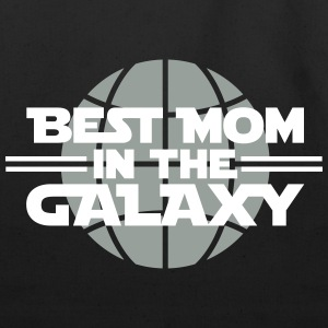Best mom in the galaxy Bags & backpacks - Eco-Friendly Cotton Tote
