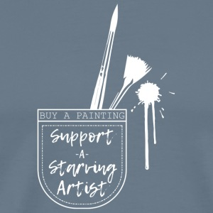 Support a Starving Artist - Men's Premium T-Shirt