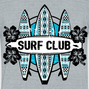 AD Surf Club T-Shirts - Unisex Tri-Blend T-Shirt by American Apparel