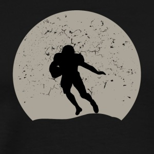 Football Full Moon - Men's Premium T-Shirt