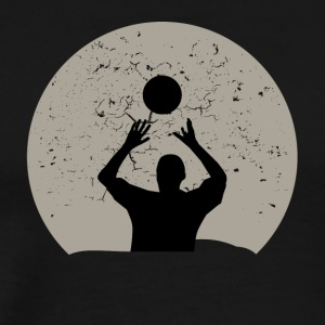Volleyball Full Moon - Men's Premium T-Shirt