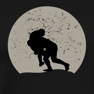Rugby Full Moon - Men's Premium T-Shirt