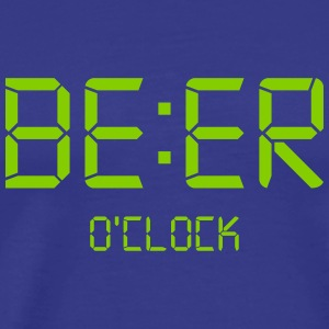 Beer o'clock - Men's Premium T-Shirt