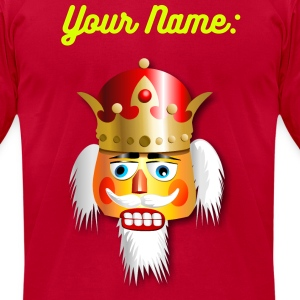 Christmas Nutcracker King - Men's T-Shirt by American Apparel