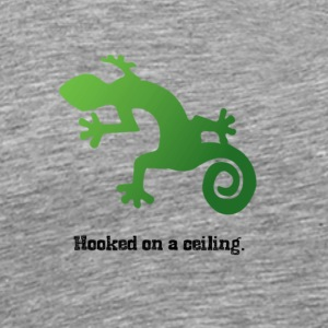 Hooked on a Ceiling - Men's Premium T-Shirt