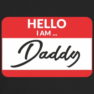 Hello i am Daddy Long Sleeve Shirts - Men's Premium Long Sleeve T-Shirt