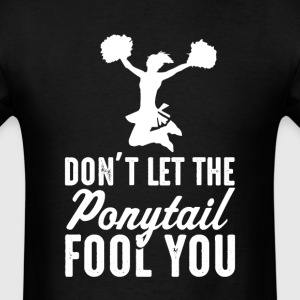 Cheerleading Don't Let The  il Fool You Women T-Sh - Men's T-Shirt