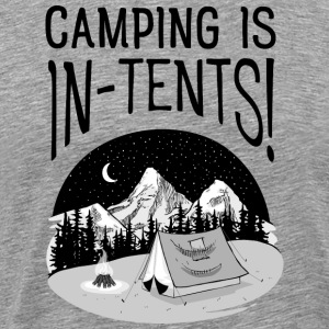 Camping Is In-Tents T-Shirts - Men's Premium T-Shirt