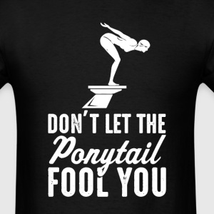 Swiming Don't Let The  il Fool You Womens T-S - Men's T-Shirt